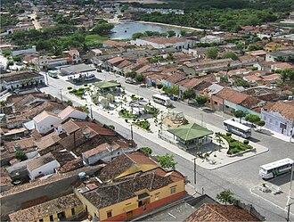 Pocinhos, Paraíba - Image: Praça de pocinhos