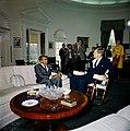 President John F. Kennedy Meets with Cheddi Jagan, Premier of British Guiana JFKWHP-KN-C19249.jpg