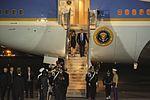 President Trump arrives at Naval Air Station Sigonella for G7 summit 170525-M-GL218-128.jpg