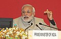 "Prime Minister Modi at the concluding session of the National Workshop on ""Make in India"".jpg"