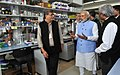 Prime Minister Narendra Modi visits Institute for Stem Cell Research, National Centre for Biological Sciences.jpg