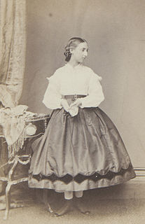 Princess María Cristina of Orléans (1852-1879)