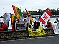 Pro-cannabis demo, Weymouth - geograph.org.uk - 1840979.jpg