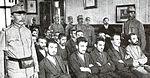 Procès de Gavrilo Princip suite à l assassinat de l'archiduc François-Ferdinand d Autriche le 28 juin 1914.