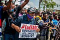 Protesters at the endSARS protest in Lagos, Nigeria 49.jpg