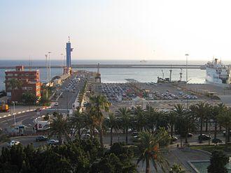 Port of Almeria - Ferry-port of Almeria