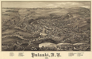 Pulaski, New York, in 1885