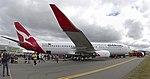 Qantas (VH-VZY) Boeing 737-838 (WL) at the Canberra Airport open day.jpg