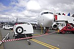 Qantas (VH-VZY) Boeing 737-838 (WL) at the Canberra Airport open day (3).jpg