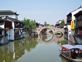 Minhang District - Image: Qibao shanghai