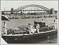 Queen Elizabeth II arriving for the Royal Visit, 1954, Farm Cove, Sydney (12108807403).jpg