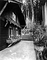 Qui Si Sana Sanatorium and Biological Institution, Pavilion exterior showing planter boxes, 1913 (WASTATE 1554).jpeg