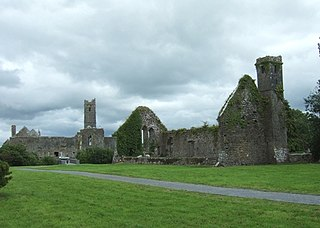 Quin, County Clare Village and parish in Munster, Ireland