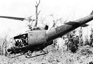 No. 9 Squadron RAAF - A 9 Sqn UH-1D in Vietnam, 1970.