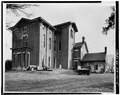 REAR (WEST) ELEVATION - Whitehall, Clay Lane, Richmond, Madison County, KY HABS KY,76-WHAL,1-5.tif