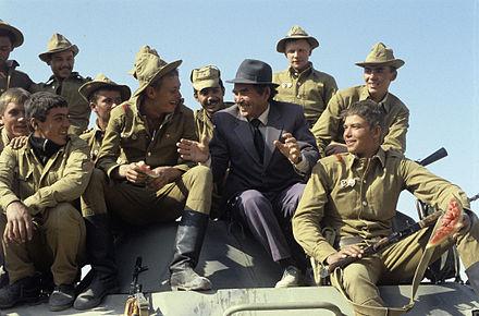 Sovietafghan war wikiwand soviet soldiers return from afghanistan october 1986 fandeluxe Choice Image