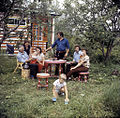 RIAN archive 487609 Boleslav Telichan's family at summer house.jpg