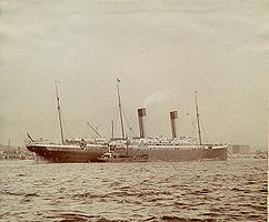 Die Oceanic in New York (1907)