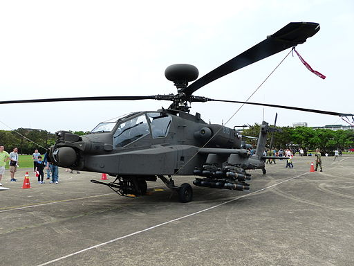 ROCA AH-64E 816 Display at Hukou Camp 20140329