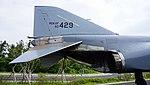 ROKAF RF-4C(60-429) stabilizer right side view at Jeju Aerospace Museum June 6, 2014.jpg