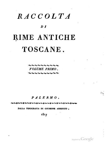 File:Raccolta di rime antiche toscane - Volume primo.djvu
