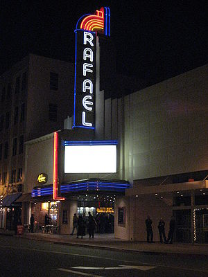 San Rafael, California - The Rafael Theater, seen in American Graffiti