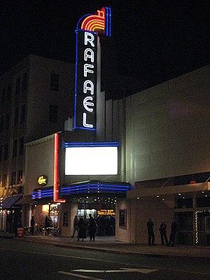 San Rafael, California - The Rafael Theater, seen in American Graffiti
