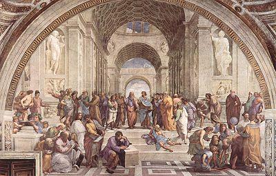 L École d Athènes   1510 - 1511Fresque de Raphaël, Palais du Vatican