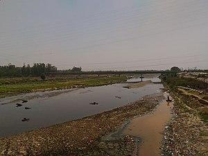 Ramganga - Ramganga near Moradabad