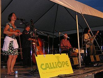 Rani Arbo and Daisy Mayhem - Rani Arbo and Daisy Mayhem performing on July 12, 2008.