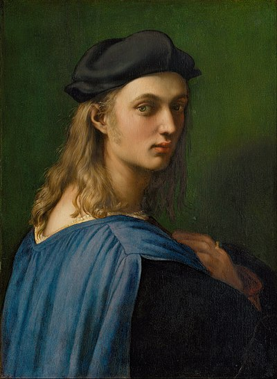 RAPHAEL Portrait of Bindo Altoviti c.1515