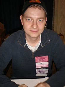 Ray Griggs at WonderCon 2009.JPG