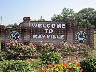 Rayville, Louisiana - Rayville welcome sign