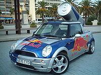 Sampling car de Red Bull
