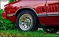 Red Mustang Ii Ghia V8 302 Seen In Wallingford Yalesville (145252285).jpeg