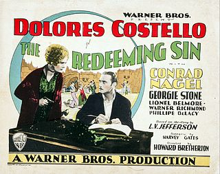 <i>The Redeeming Sin</i> 1929 film