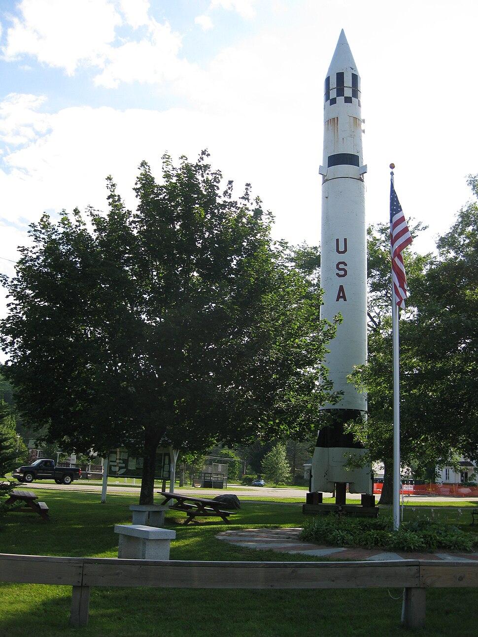 Redstone Missile