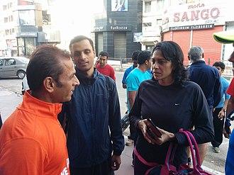 Reeth Abraham - Reeth Abraham with Raj Vadgama in Bengaluru.
