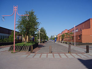 Luleå University of Technology - Regnbågsallén (Rainbow Avenue)