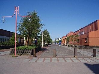 Luleå University of Technology - Regnbågsallén (Rainbow Avenue)