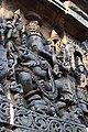 Relief Sculpture of Ganesha Hoysaleswara Temple Halebid.jpg
