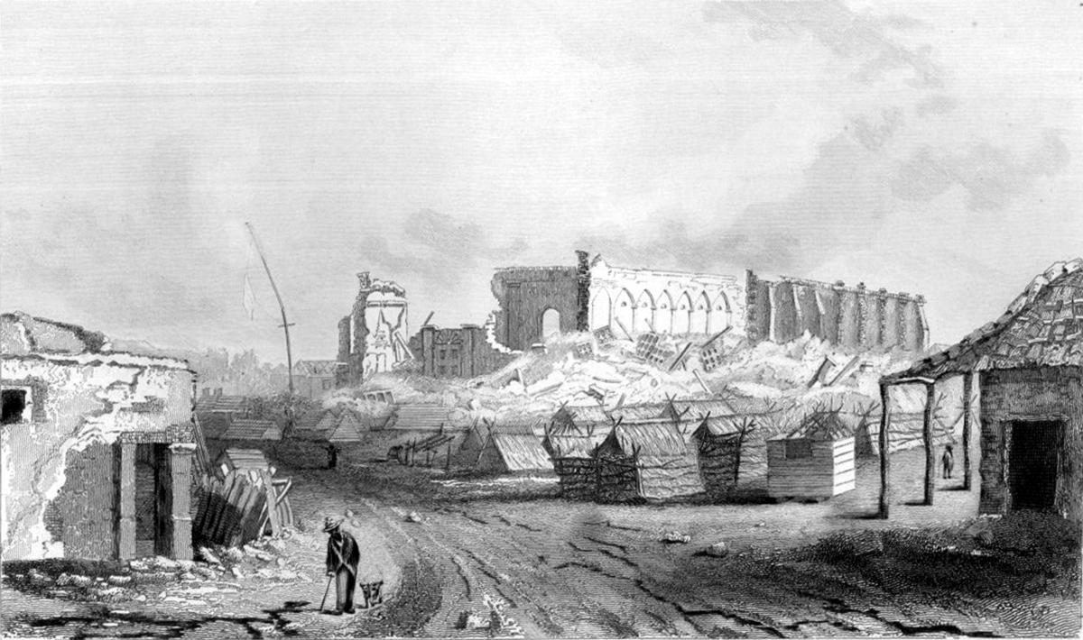 1835 Concepcion Earthquake Wikipedia