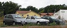 Renault Scénic, Renault 19 and Renault Laguna in France (3980315794).jpg
