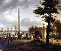 Rencontre de Napoléon et du pape Pie VII dans la forêt de Fontainebleau, le 25 novembre 1804 - Jean-Louis Demarne.jpg