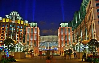 Resorts World Sentosa Resort on Sentosa Island, Singapore
