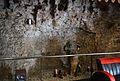 Restes de la muralla islàmica a l'interior d'un comerç del carrer Serrans, València.JPG