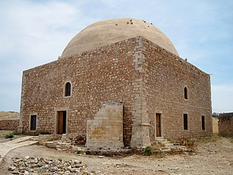 Fortezza of Rethymno - Mosque of Sultan Ibrahim, which was originally the Cathedral of St. Nicolas