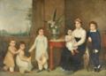Retrato de família (tradicionalmente identificada como a dos Barões de Quintela e Condes de Farrobo) - Domenico Pellegrini.png