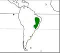 Rhea ameriana americana - distribution.png