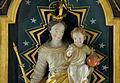 Rheinbay, katholieke filiaalkerk Sint-Sebastiaan, detail beeld hoogaltaar.JPG